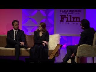 SBIFF 2017 - Ryan Gosling Emma Stone Discuss Challenges Making La La Land
