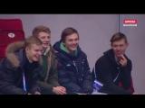 Артем Лежеев, Павел Вьюгов, Михаил Коляда, Александр Петров на трибуне во время ПП парников