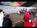 автостопом на Байкал.  концерт на енисее