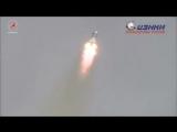 """Мощь и красота: старт """"Союз МС-04"""" к МКС с двумя космонавтами и плюшевой собачкой"""