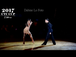 Salvators Sinardi & Viktoriya Kharchenko | Cha-cha Honorary Dance | 2017 WDC World Grand Prix-Taipei