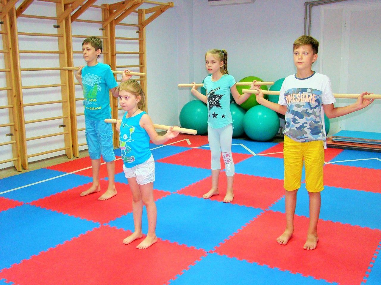 Лечебная гимнастика картинки для детей