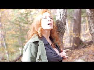 #pron 2876 2016-10-21 autumn masturbation in the forest