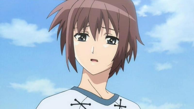 У небі сходить місяць / Looking up at the Half-Moon / Hanbun no Tsuki ga Noboru Sora [01] (2006) [Gwean and Di-Vers]