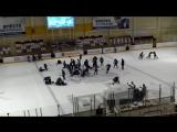 Две массовые драки устроили юные хоккеисты в матче за третье место на детском турнире