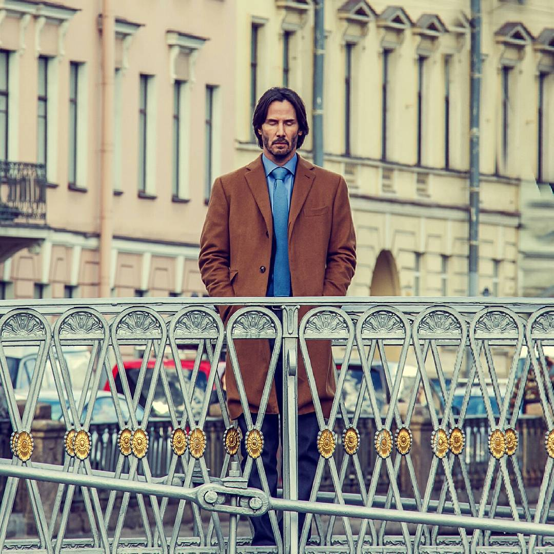 Keanu Reeves in St.Petersburg