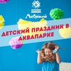 """Детский праздник в Аквапарке """"Лебяжий"""""""