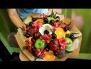 Маленькая история создания фруктового букета
