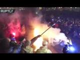 На Майдане произошли стычки между митингующими и правоохранительными органами