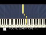 Распевка для начинающих вокалистов- слушай и пой