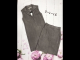 Костюмы двойка !  Удлинённый пиджак с юбочкой