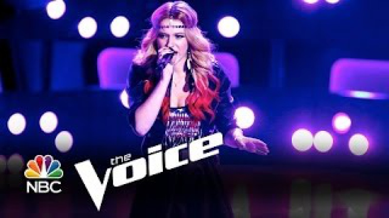 The Voice Blind Audition - Ria Eaton: