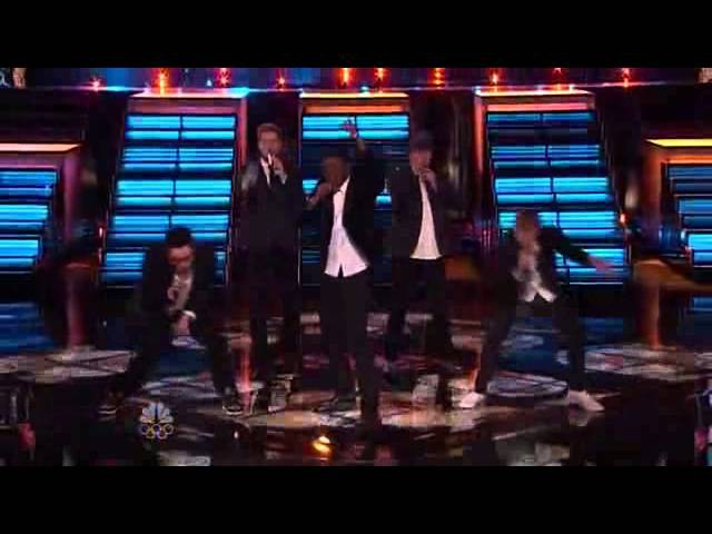 Matthew Schuler, Ray Boudreaux, Josh Logan, Preston Pohl Nic Hawk - Treasure (Live on The Voice)