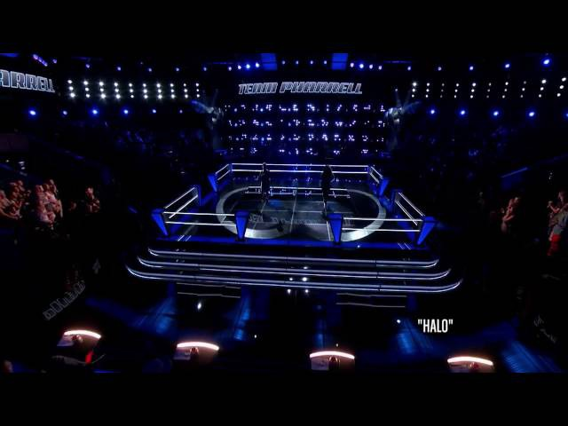 Toia Jones Vs DaNica Shirey - Halo | The Battle | The Voice 2014