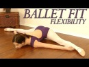 Ballet Fit Flexibility Challenge! Full Body Stretch Toning Exercises, Beginners At Home Workout