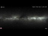 ESA  GAIA  The motion of two million stars - 5 Million years into the future