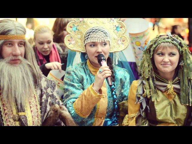 Детская пресс-конференция со сказочными героями, ТРЦ Коллаж, 6 апреля 2013 г.