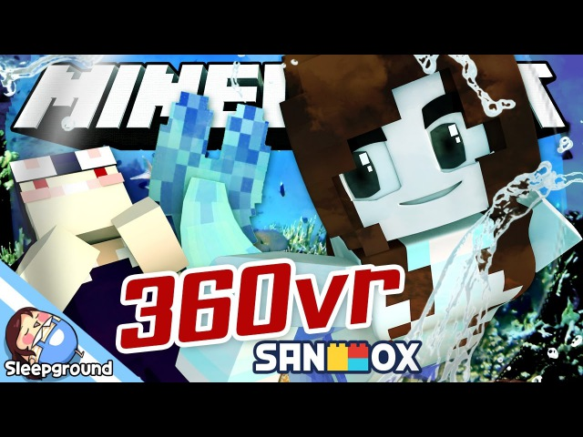 *360도 상황극* 인어공주 잠뜰의 사랑은?! [마인크래프트 360VR: 인어잠뜰 이야기] - Minecraft 360VR - [잠뜰]