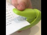 Eco friendly stapler