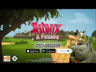 ASTERIX AND FRIENDS Launch Trailer