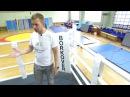 Презентация ринга на помосте BORKOVER