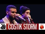 COSTIK STORM (ALEXINHO &amp EFAYBEE)  Grand Beatbox TAG TEAM Battle 2017  Elimination