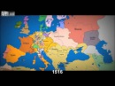 Быстрый урок истории. Как менялись границы в Европе за последние 1000 лет