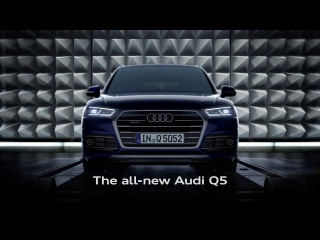 The all-new Audi Q5:Made for the here and now.