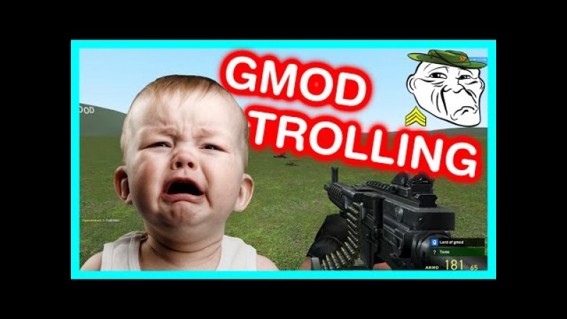 THE BIGGEST RAGE EVER IN GMOD! (Gmod Trolling)