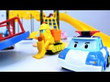 Video for kids with #ToysForBoys. #ToyStory: Robocar Poli Team repairs playground. Kids games