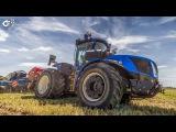 New Holland T9.450 HD avec Strip Till Inro de Carr