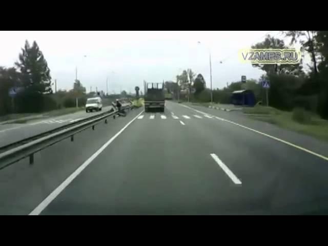 Дальнобойщики спасают жизни Truckers save lives