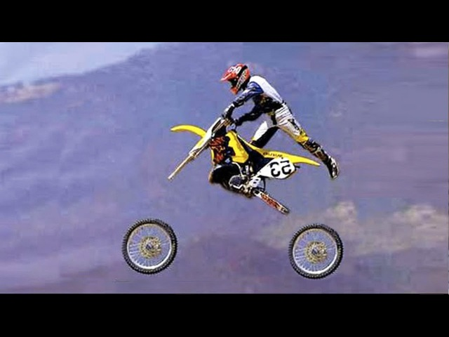 TOP 60 unsuccessful jumps and falls on a motorcycle | MOTOCROSS FAILS 2016 -=HD=-