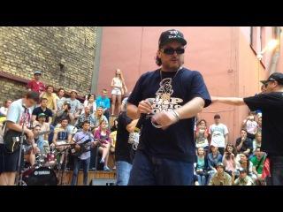 Группа Bad Balance исполнила легендарный трек - Городская Тоска, 4 июля 2015 г.