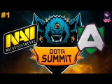 NaVi vs Alliance #1 (bo3) The Summit 7 - 13.05.2017