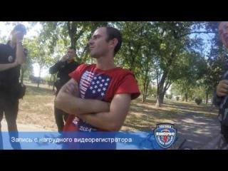 КомСервис задержал велосипедного грабителя