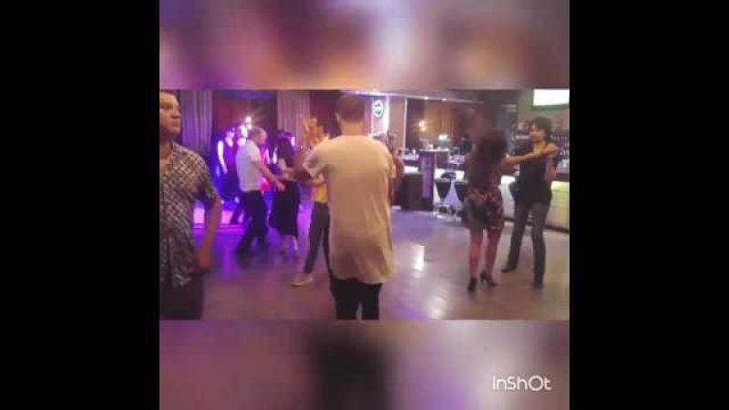 Samuel Funflow Gulvira Karabaeva Танцы Сальса Танцы Salsa Cubana Кубана