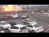 Легкомоторный самолет упал на шоссе в США, Калифорния 31.07.17