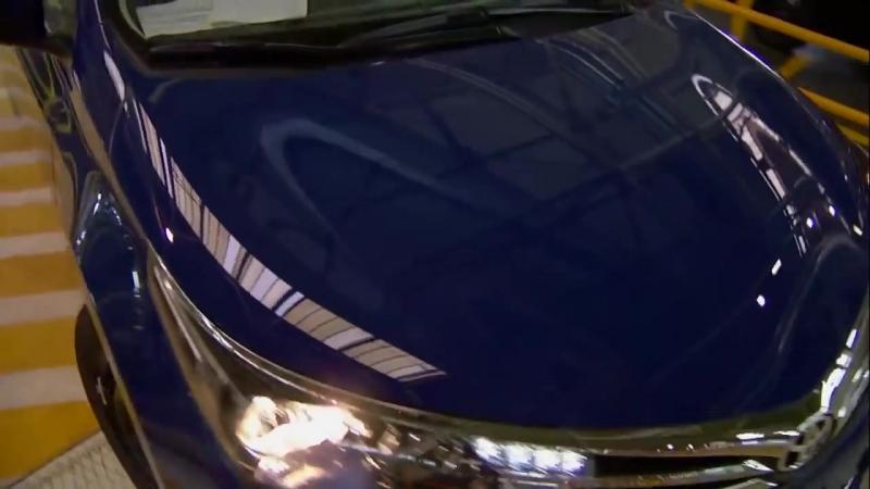 Процесс производства и сборки новой Toyota Corolla e160 2014