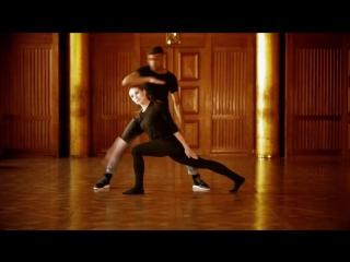 Сочетание двух танцевальных стилей
