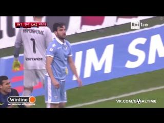 Интер - Лацио 1:2. Обзор матча. Италия. Кубок Италии 2016/17. 1/4 финала.