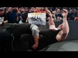 [РУС.: 545TV] WWE RAW: Голдберг встречается с Броком Леснаром лицом к лицу перед WrestleMania 33 - 2017.03.27