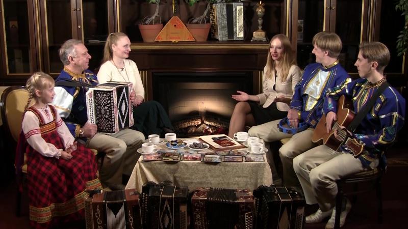 Семейный ансамбль Журёнковых в Искрах Камина! 11 декабря в 9:00 на ОТВ!