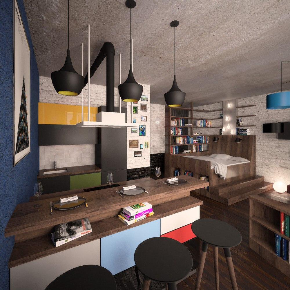 Проект квартиры 50 м.