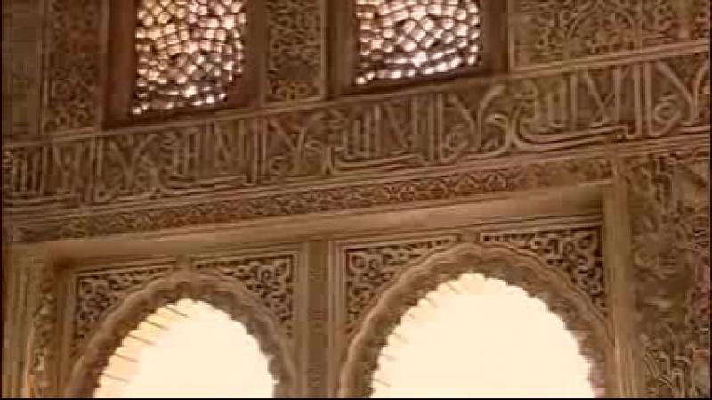 La Alhambra. Del Palacio del Sultán a la leyenda. (Granada - España) Audio en Español