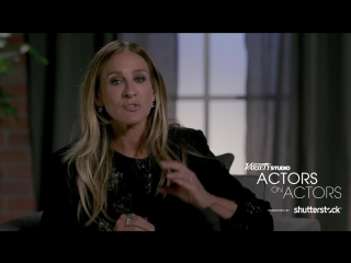 Actors on Actors Sarah Jessica Parker and Michelle Pfeiffer