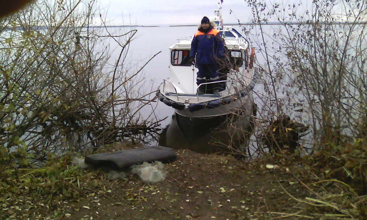 ВТатарстане наКаме отыскали тело утонувшего рыбака