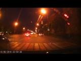 10.06.2016 Момент ДТП на ул. Удмуртская, сбили пешехода (Ижевск)