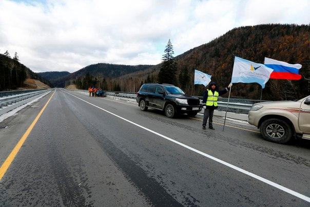 Дорожники сдали 127-148 км автодороги Хабаровск-Лидога-Ванино