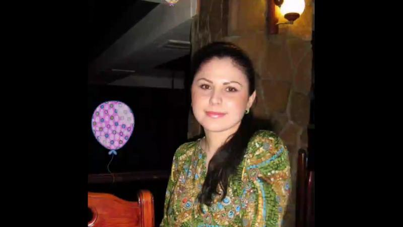 Поздравление Нургули с днём её рождения